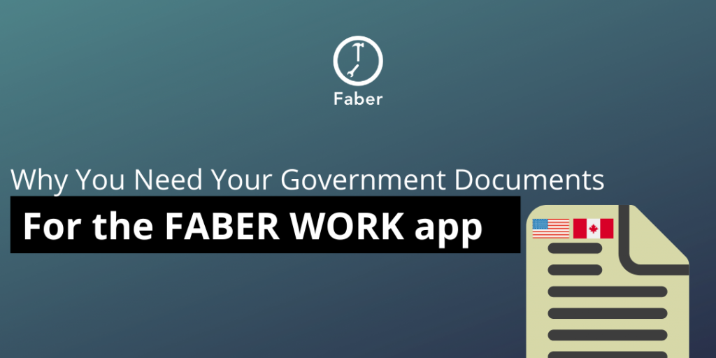 why you need your SIN for faber worker