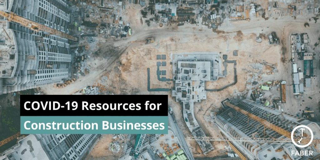 COVID-19 resources for construction